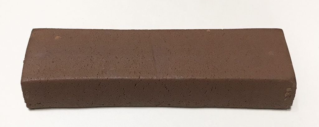 一本満足プロテインバーベイクドチョコ味中身