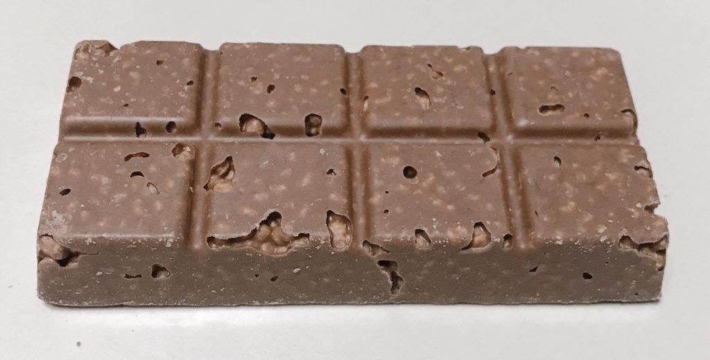 マツキヨラボプロテインバーチョコレートの中身