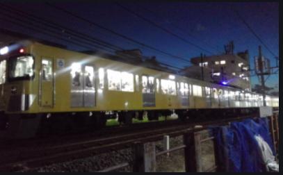 西武新宿線上石神井駅〜武蔵関駅で人身事故!画像